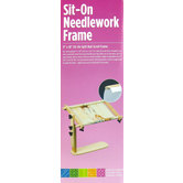 "Sit-On Needlework Frame - 9"" x 18"""